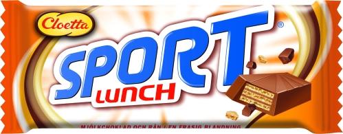 Sportlunch från Cloetta