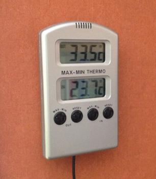 33 grader varmt