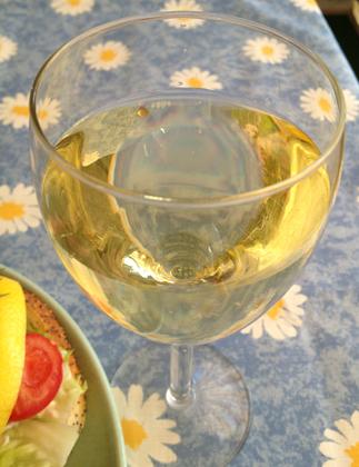 Ett glas vitt