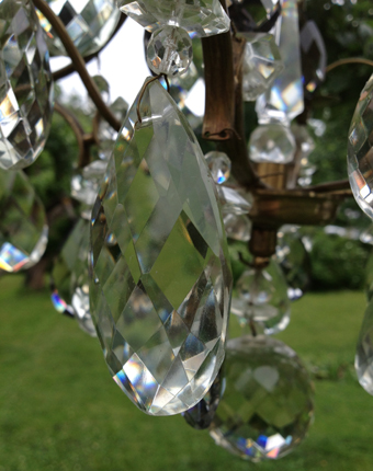 Kristall nära