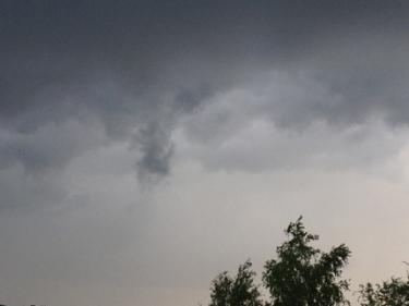 Mörkare regnmoln