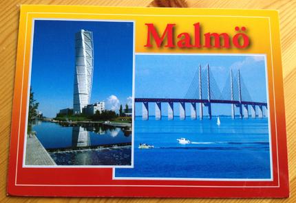 Vykort från Malmö