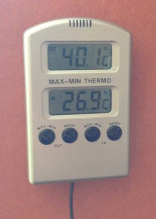 40 grader varmt