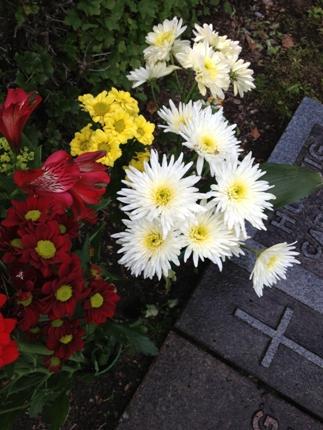 Blommor t pappa o mormor o morfar