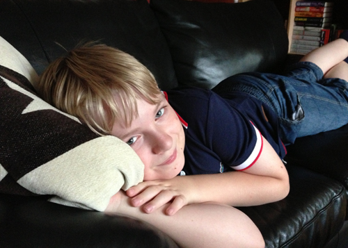 Elias 11 år