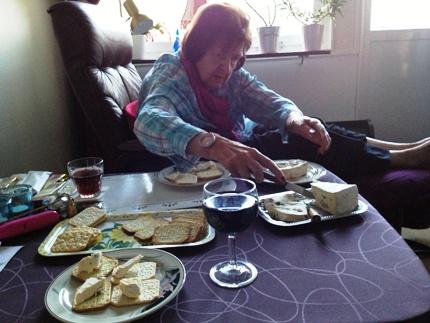 Mamma på ost o vinfest