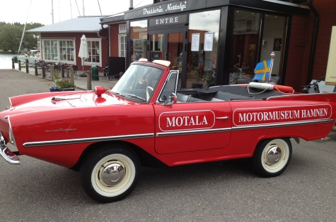 Motala motormuseum bil
