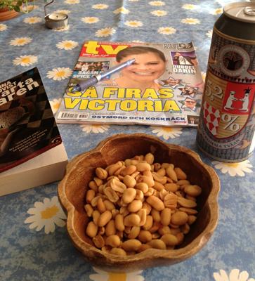 Nötter öl o läsning