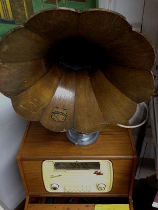 Trattgrammofon