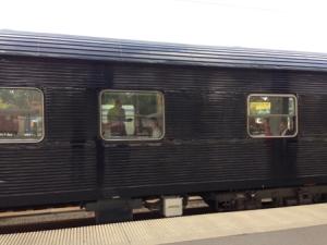 Ett svart tåg