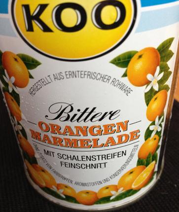 Bitter apelsinmarmelad