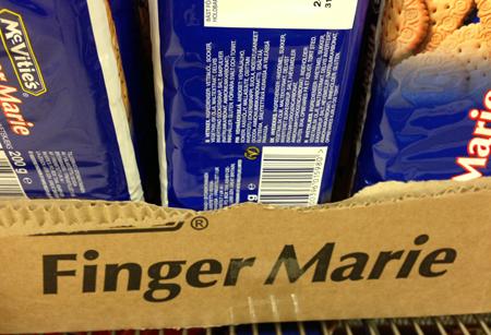 Finger Marie