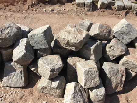 stenläggning