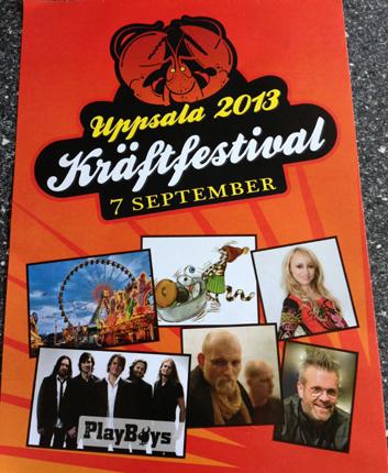 Uppsala kräftfestival 2013