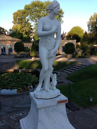 Venus i Linnéträdgården