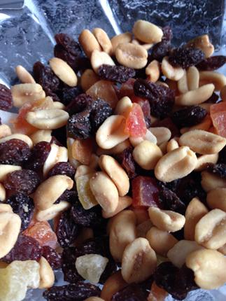 Blandat snacks