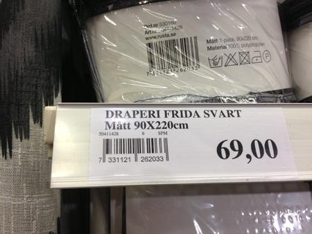 Draperi Frida