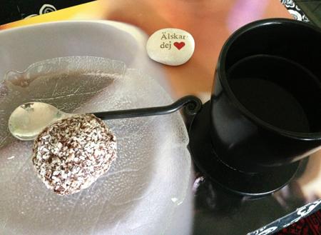 Havreboll o kaffe
