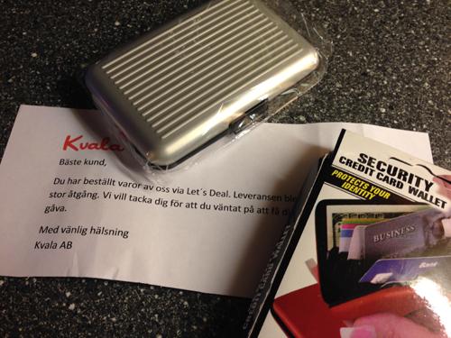 Paket från Kvala