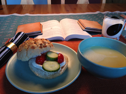Thaisoppa o ostfralla