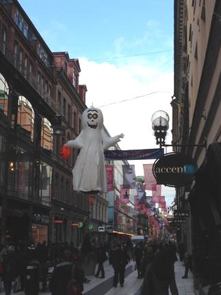 Spöke på Drottninggatan