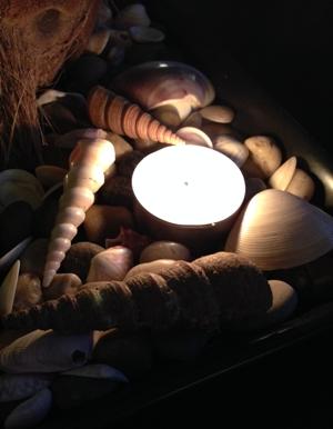 Ljus och snäckor