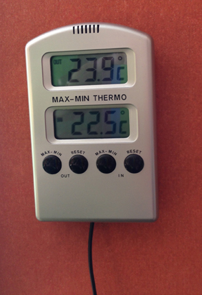 Termometer 3 oktober 2013