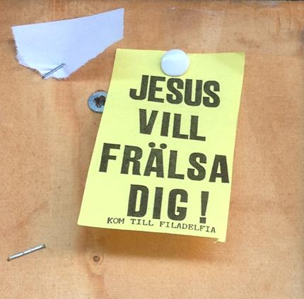 Jesus vill frälsa dig