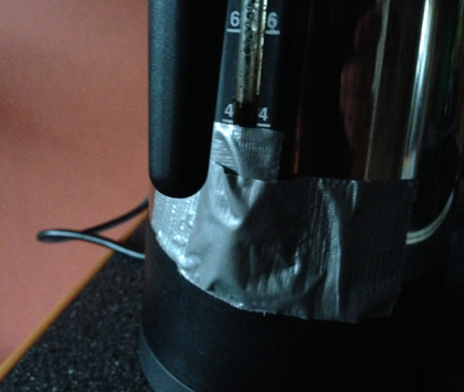 Tejpad perkolator