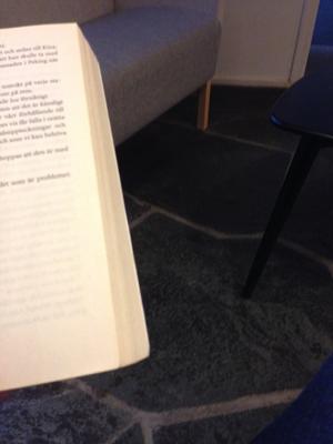 Väntan med en bok