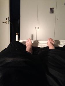 Trötta fötter