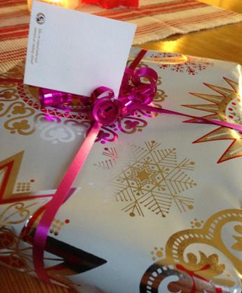 Julklapp från Annas snälla mamma o L