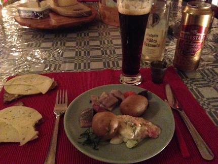 1 Förrätt sill och potatis