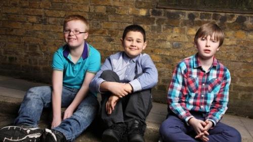 Barn med Tourettes syndrom