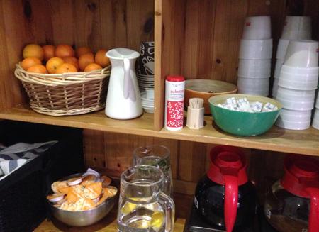 clementiner till kaffe på maten