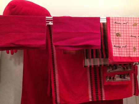 röd tvätt