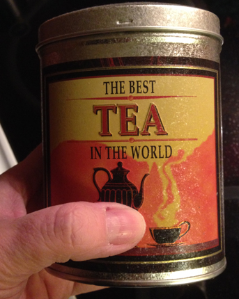 The best tea in the world teburk