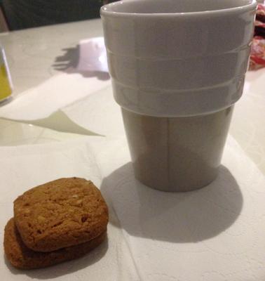 kakor till kaffet på maten