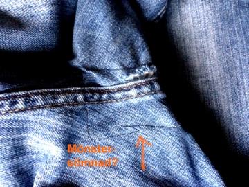 Lagade jeans