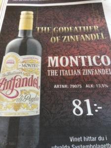 Montico Zinfandel