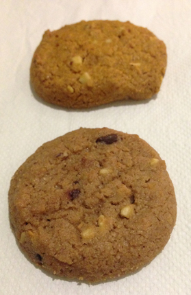 två kakor