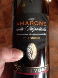 Amarone dellaValpolicella 2009 Domini Veneti