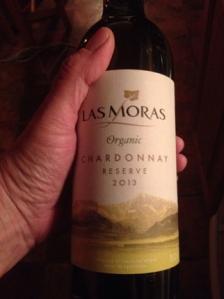 Las Moras Organic Chardonnay Reserve 2013