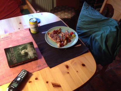Min nya plats vid köksbordet