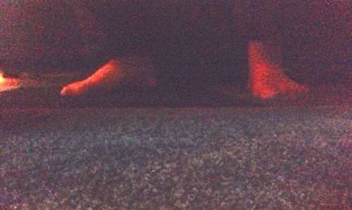 Annas fötter