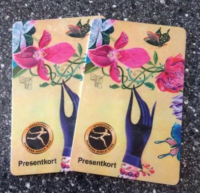 Presentkort på Interflora