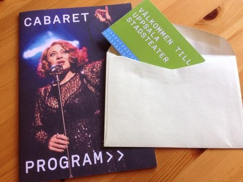 Biljetter till Cabaret