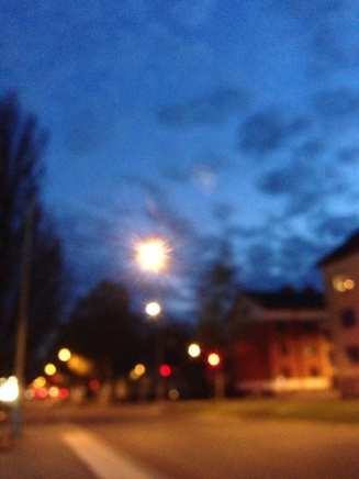 Kväll på S:t Olofsgatan