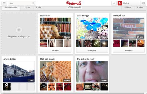 Ulrika på Pinterest