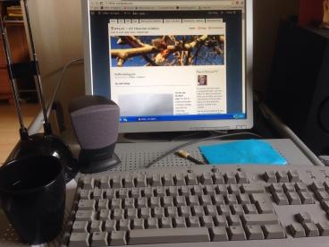 Morgonstund vid datorn